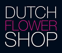 logo dutch flower shop