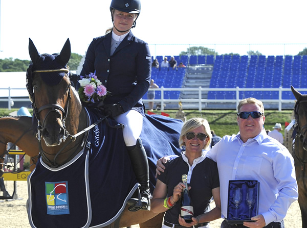 Sarah and Madison Triumph at Bolesworth International