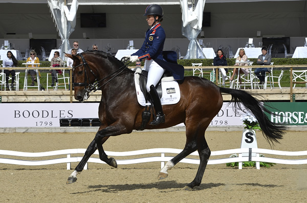 Thai Princess Joins Leading Dressage Stars Hester and Dujardin at The Equerry Bolesworth International Horse Show