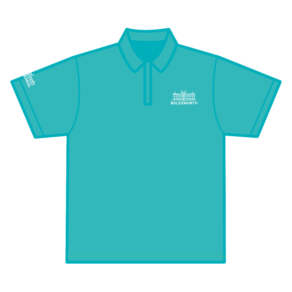 Adult Official 2019 Aqua Polo Shirt